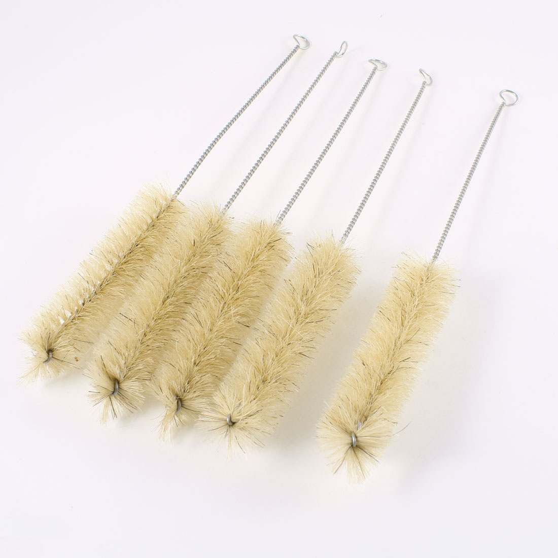 "5 Pcs 10.8"" Length Chemistry Test Tube Bottle Wash Cleaning Brush"