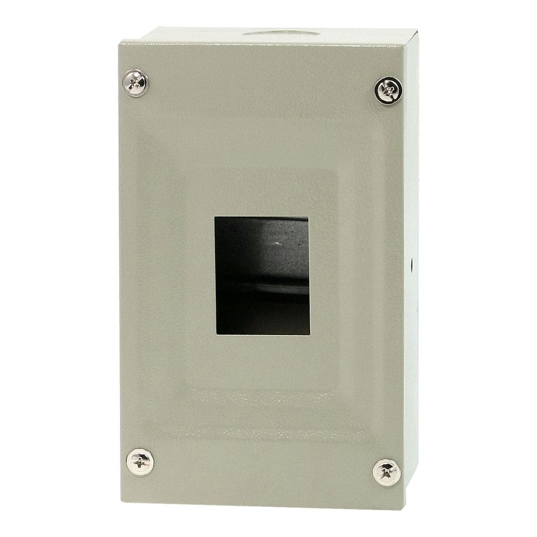 Rectangular Gray Metal Main Distribution Box Guard Cover for Factory