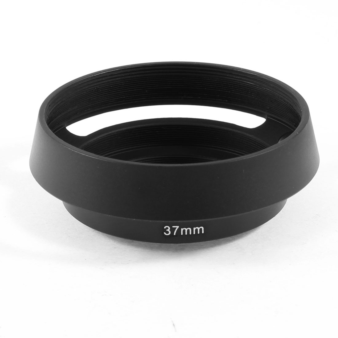 Universal Camera 37mm Screw In Aluminum Hollow Lens Hood Cover