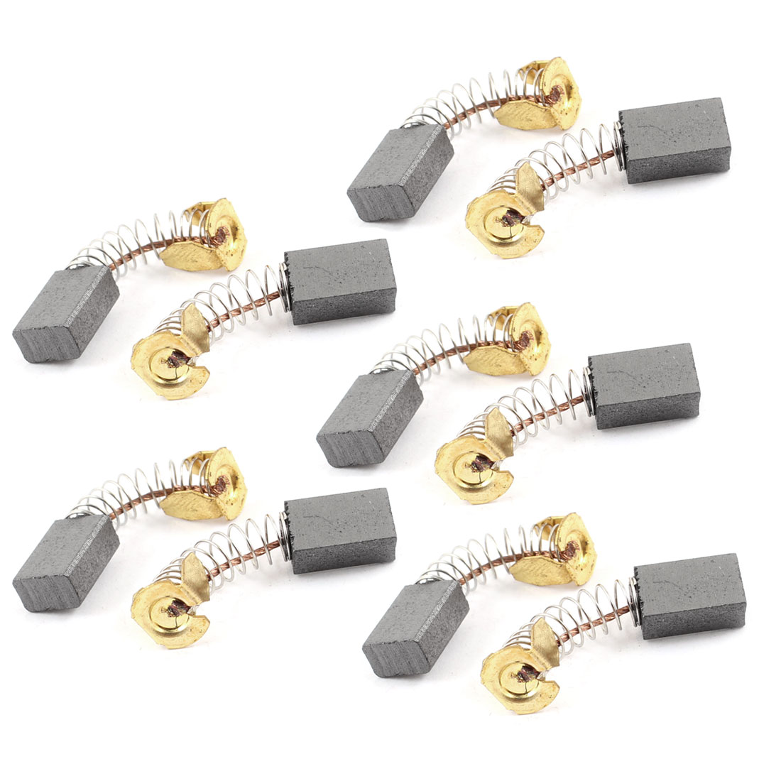 10 Pcs Power Tool Replacement 12mm x 8mm x 5mm Motor Carbon Brushes