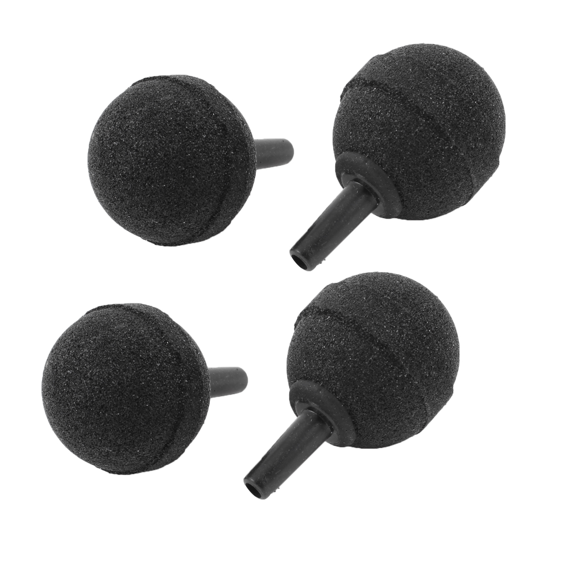 "1"" Diameter Ball Shape Air Stones Aeroponics Diffuser Gray 5 Pcs"