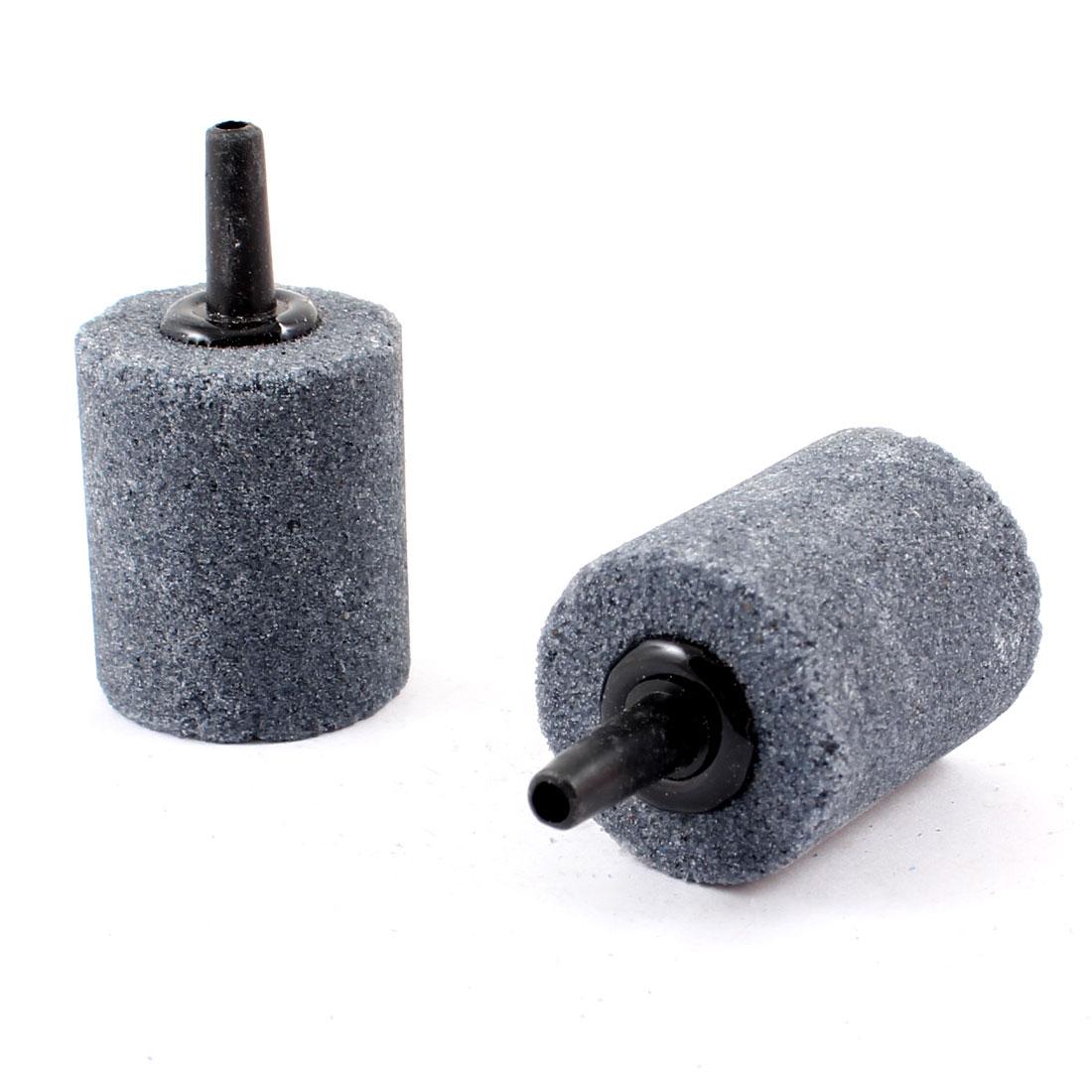 "2 Pcs 1"" x 1.2"" Cylindrical Air Stone for Aquarium Fish Tank"