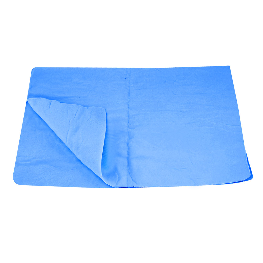 Synthetic Chamois Auto Car Furniture Blue Rectangle Cleaning Clean Cham Towel