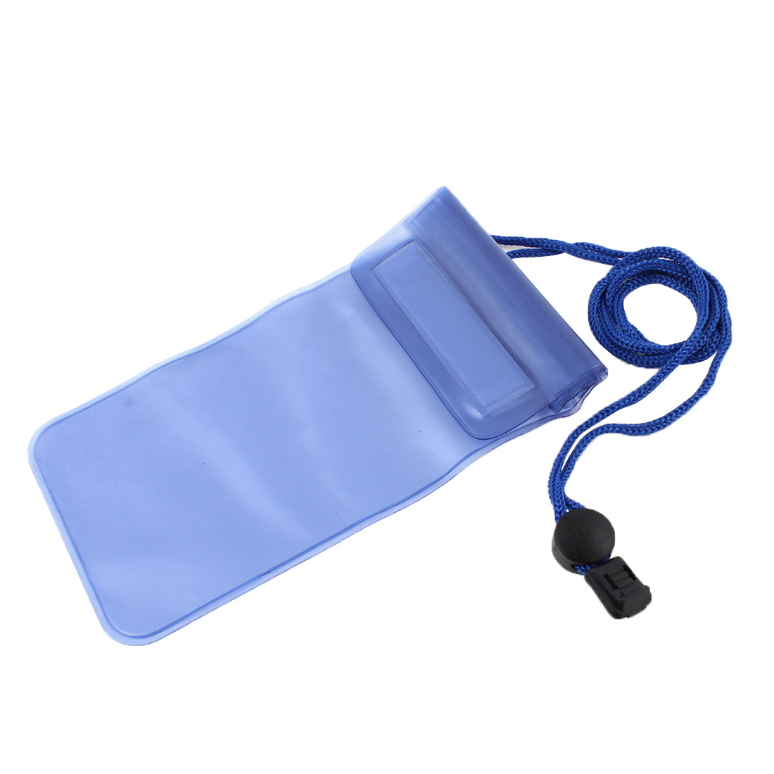Water Resistant Shoulder Bag Pouch Clear Blue for Phone MP3 MP4
