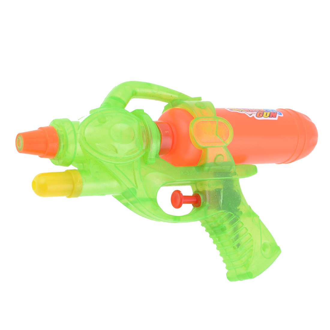 Children Yellow Green Red Plastic Game Fun Water Squirt Toy Gun
