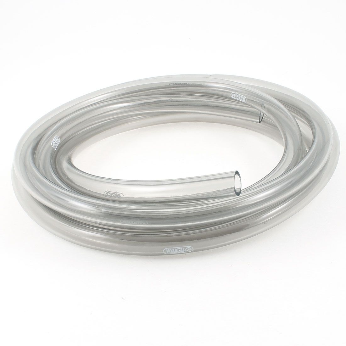Flexible Air Oxygen Circulate Pipe Clear Gray 3.0 Meter for Fish Tank