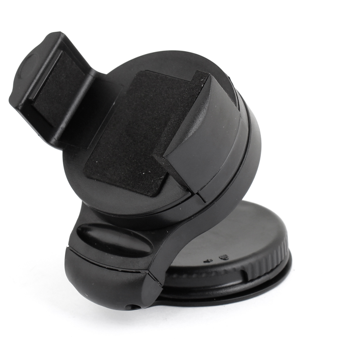 Black Plastic Windscreen Mounted Cell Phone GPS Holder Support for Car