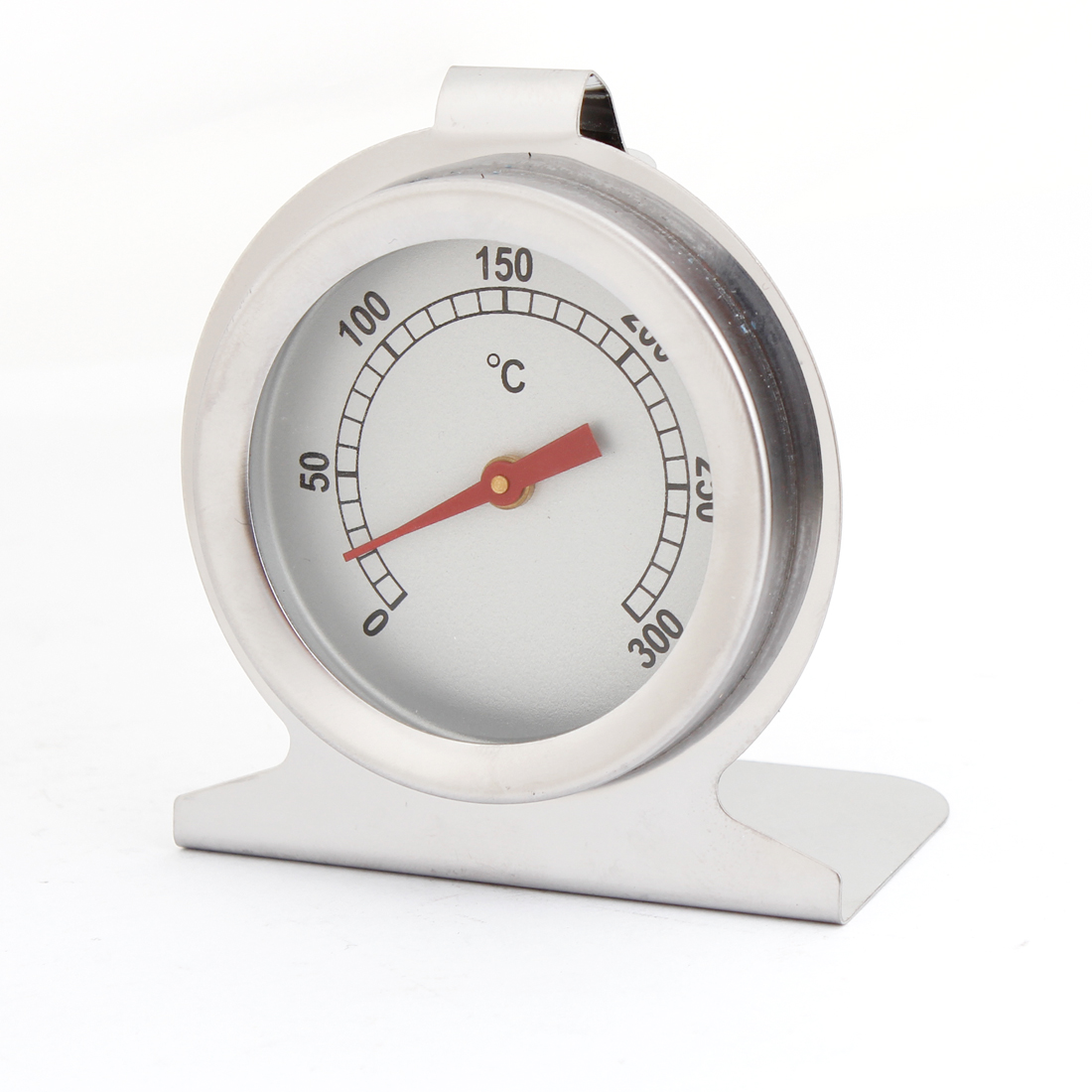 Stainless Steel Stand up Food Meat Rounded Dial Oven Thermometer