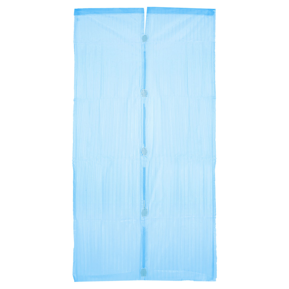 "Blue Nylon Door Panel Panels Magnetic Curtain 82.7"" x 33.9"""