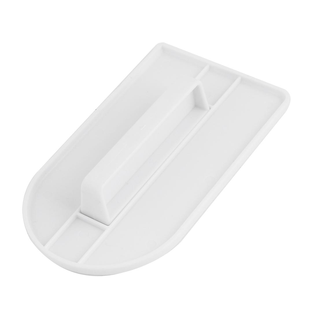 14.8cm Length White Plastic Cake Fondant Polisher Sugarcraft Tool
