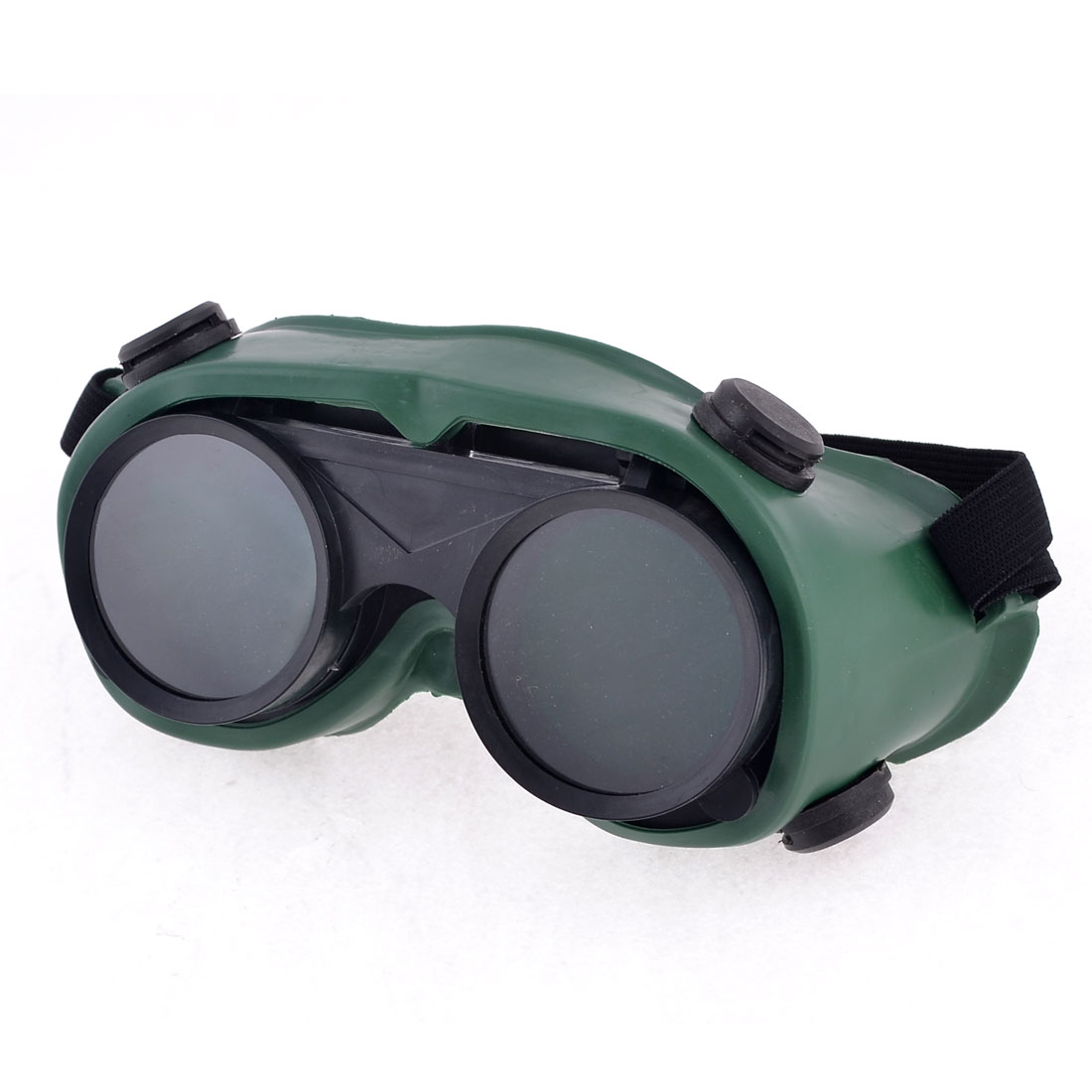 Stretchy Strap Double Layer Lens Grinding Cutting Welding Goggles Glasses