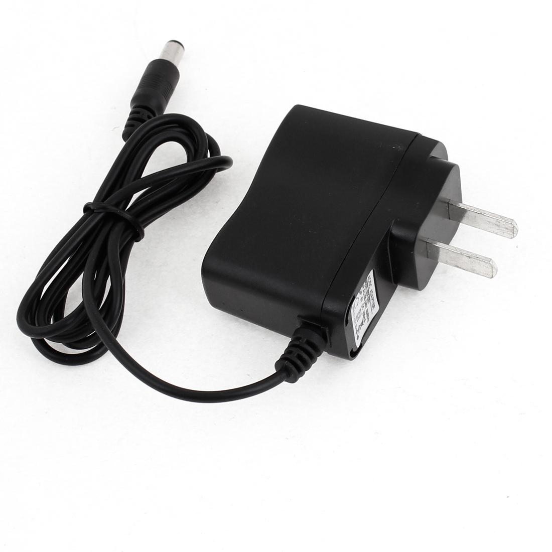 US Plug Travel AC 100-240V 50-60Hz DC 5V 500mA Power Adapter Converter w Cable