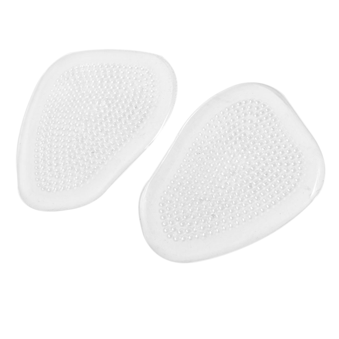 1 Pair Antislip Soft Silicone Ball Of Foot Cushion Metatarsal Pad