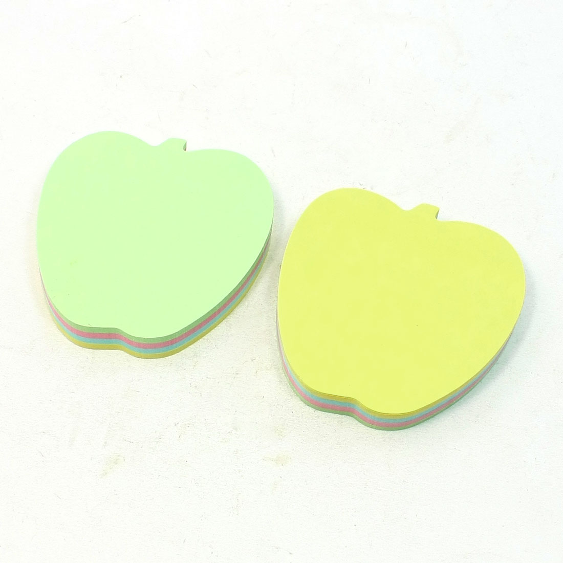 Office Apple Shape Memo Paper Self Sticky Series Note Pad 200 Sheets