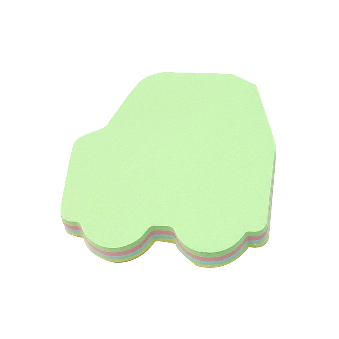 100 Sheets Mini Car Shape Colorful Self Sticky Note Pad for Work