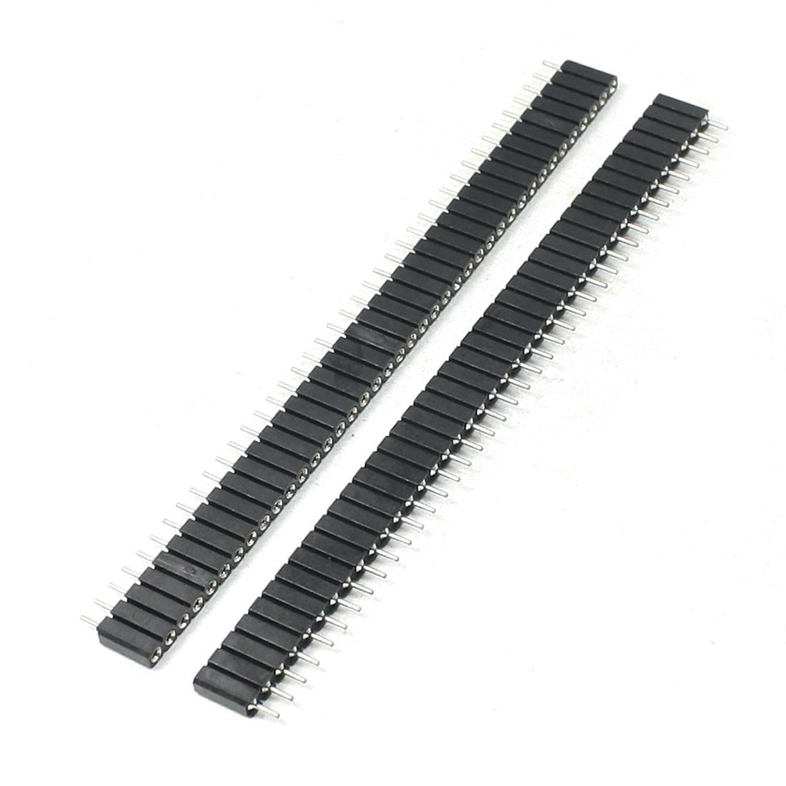 2.54mm Pitch Straight 40 Pins IC Socket Connector 2 Pieces