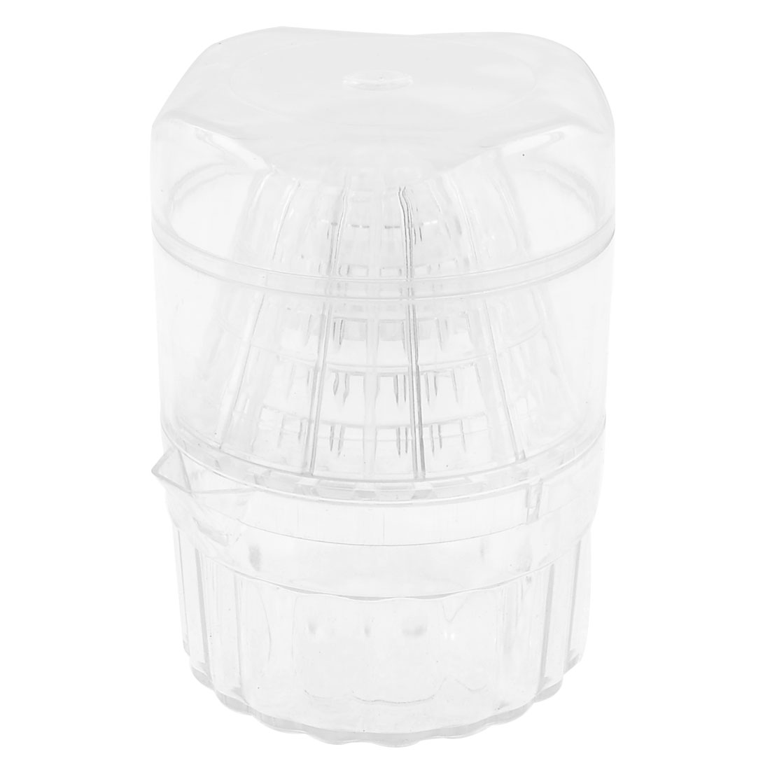 Clear Plastic Mesh Hole Design Citrus Juicer Squeezer