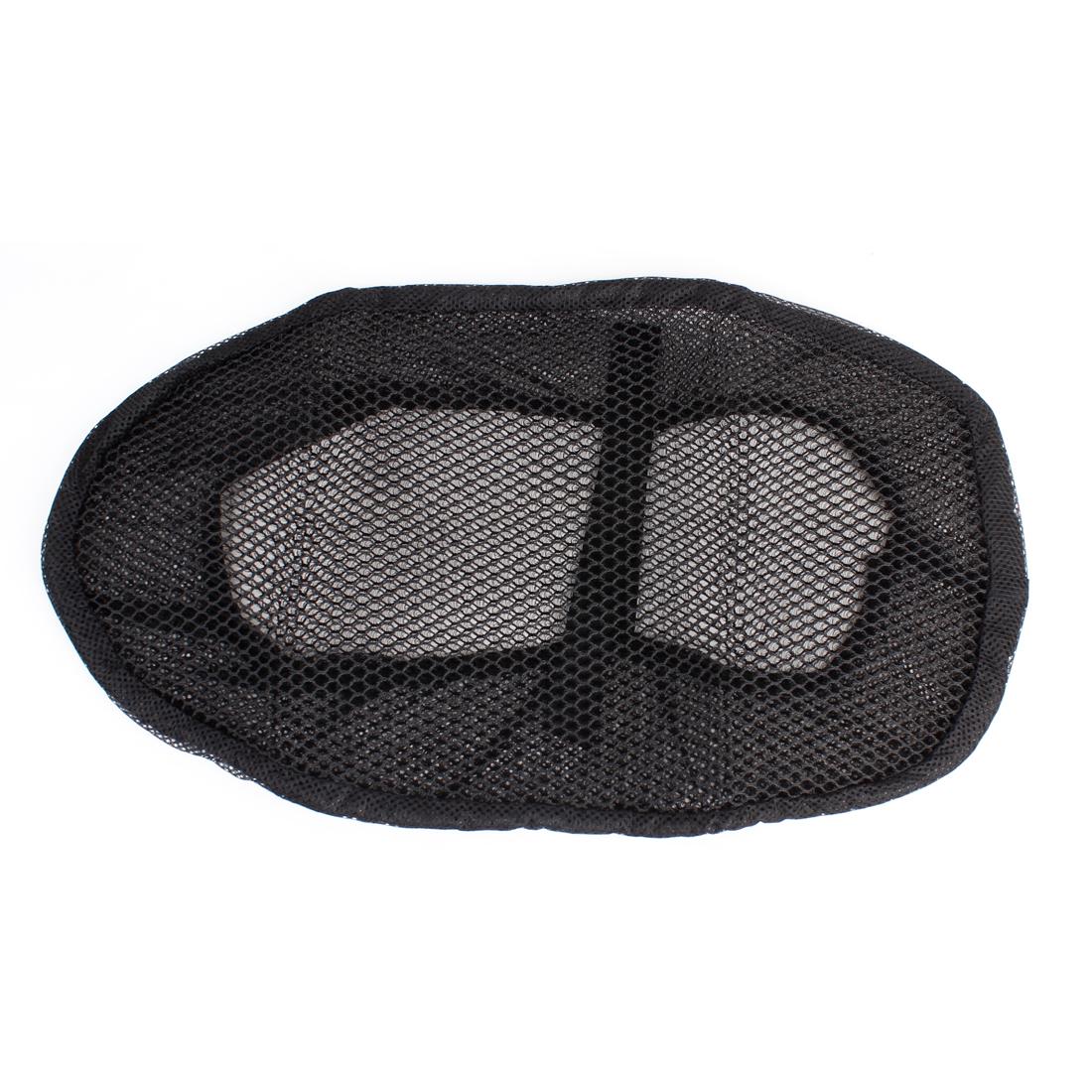 Black Mesh Type Soft Tertolon Seat Cushion Size D for Ladies Electric Bike