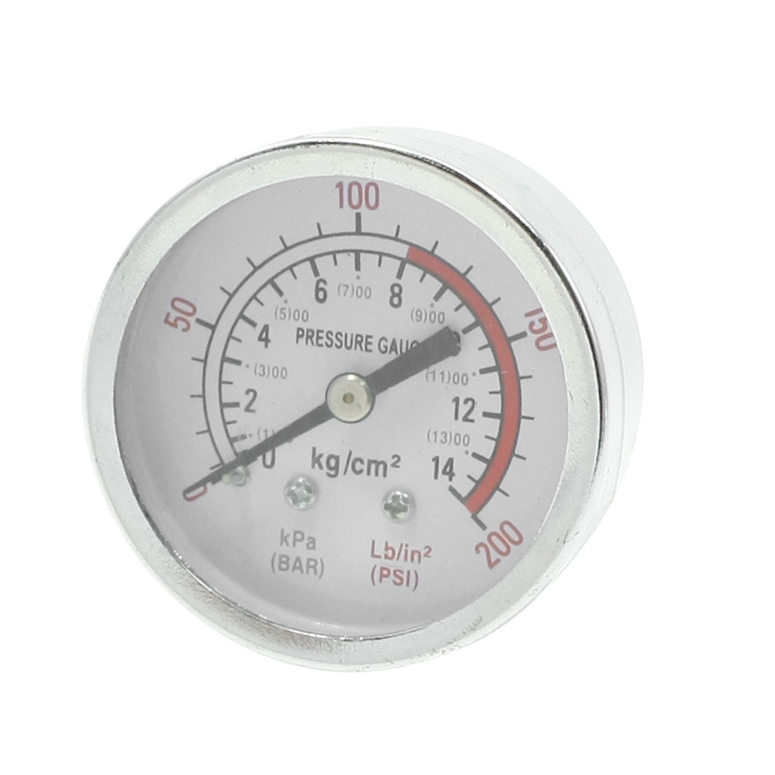 0-14 Bar 0-200 Psi Air Compressor Barometer Pressure Gauge