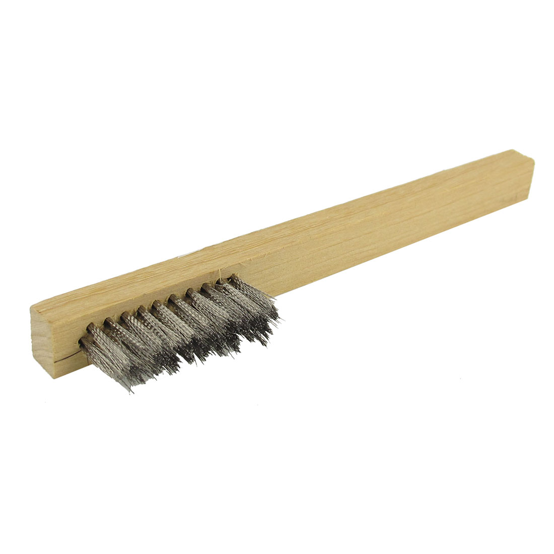 Stainless Steel Bristle Wooden Handle Wire Brush Cleaner