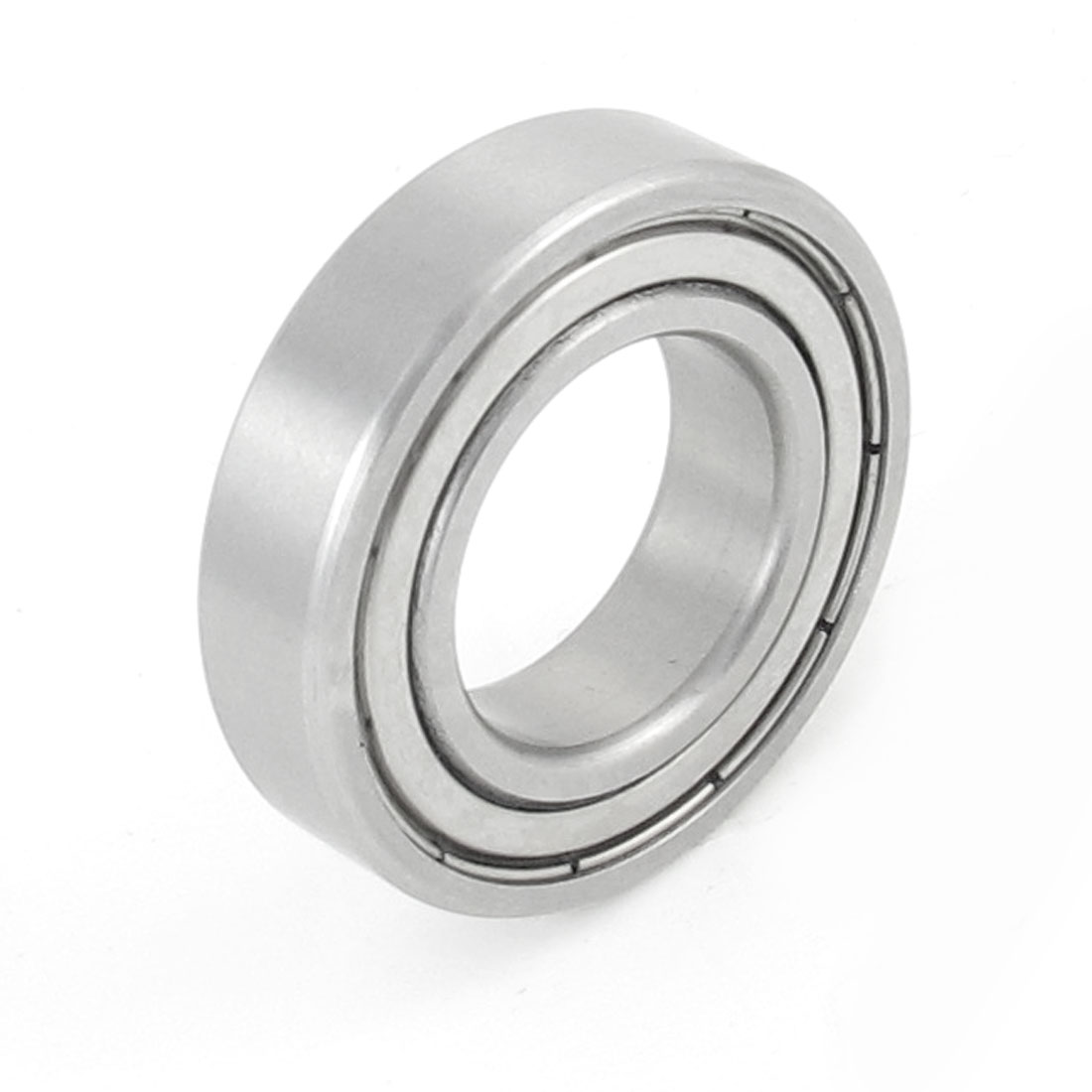 Siver Tone Stainless Steel 37mm OD 20mm ID Deep Groove Ball Bearing