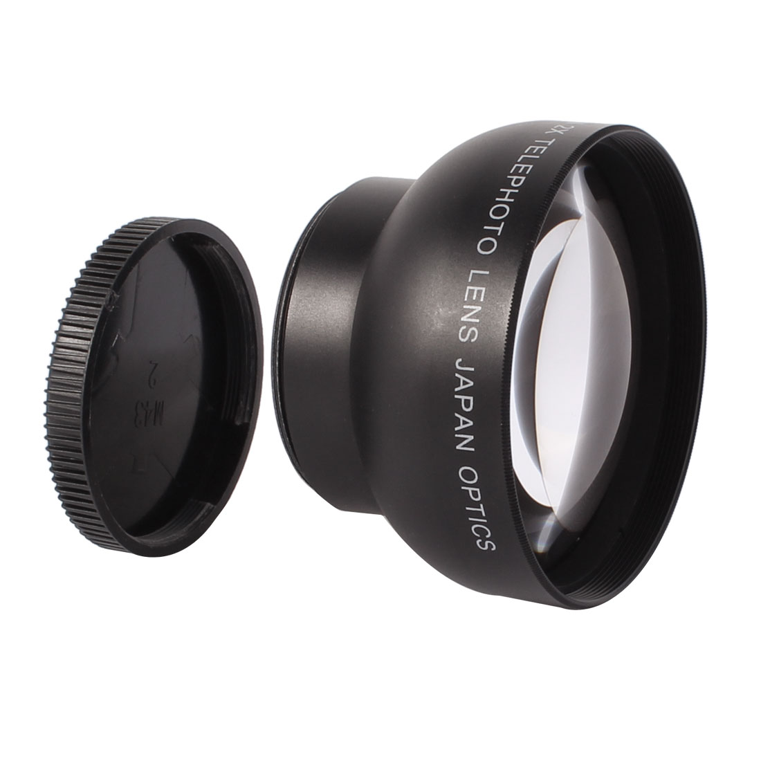 43mm 2X Magnifier Multi Coated Tele Telephoto Lens for Digital DSLR Camera