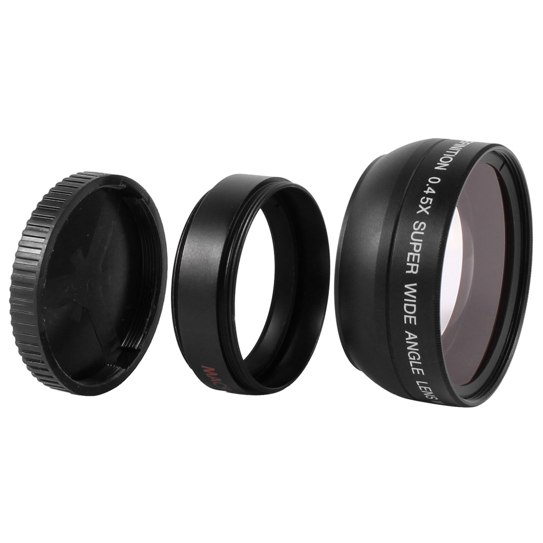 37mm 0.45X Magnifier Multi Coated Wide Angle Macro Lens Filter for DSLR Camera