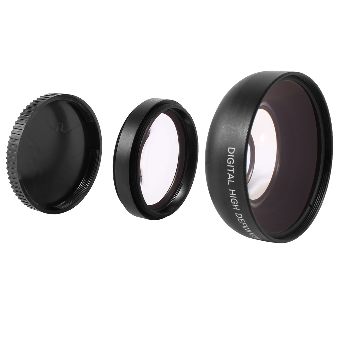 46mm 0.45X Magnifier Multi Coated Wide Angle Macro Lens Filter for DSLR Camera