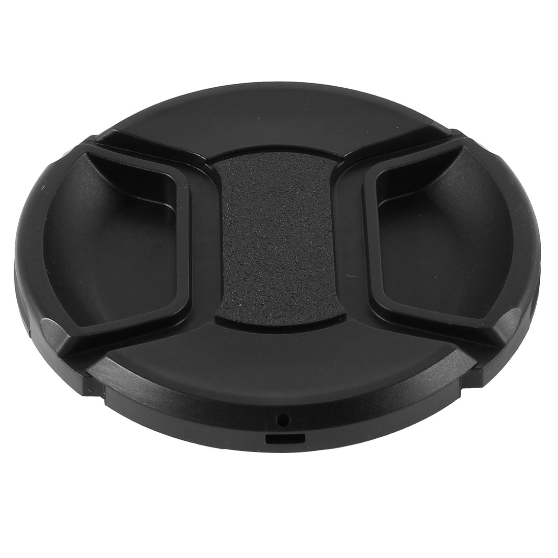 Univeral 72mm Center Pinch Front Lens Cap for DSLR Camera