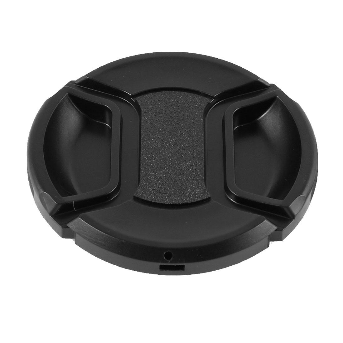Univeral 62mm Center Pinch Front Lens Cap for DSLR Camera