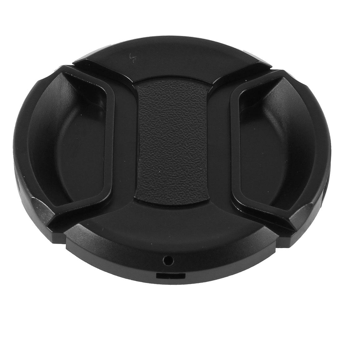 Univeral 58mm Center Pinch Front Lens Cap for DSLR Camera