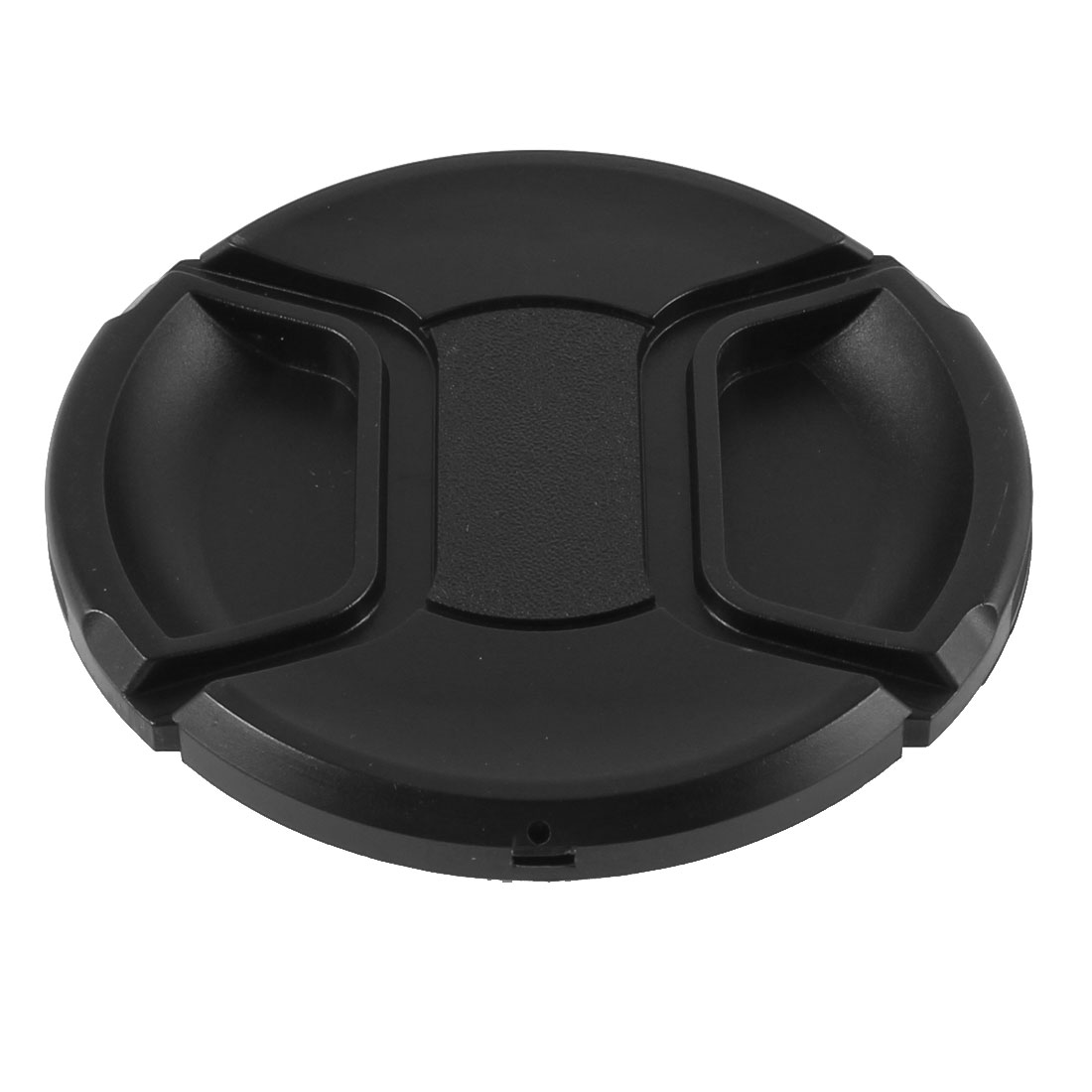 Univeral 82mm Dia Center Pinch Front Lens Cap for DSLR Camera