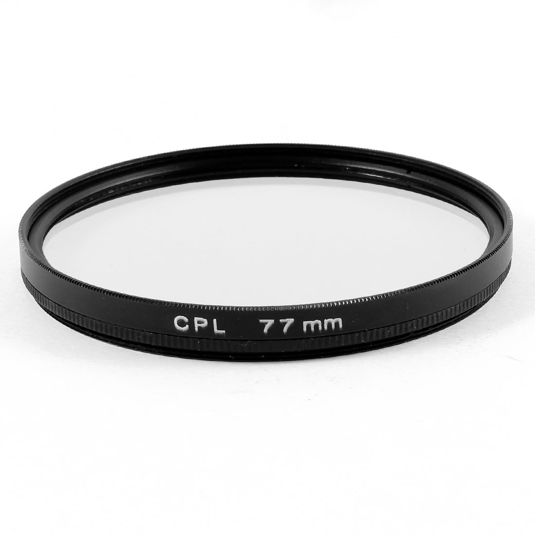 77mm Circular Polarizing CPL Lens Filter Protector Black for Digital Camera