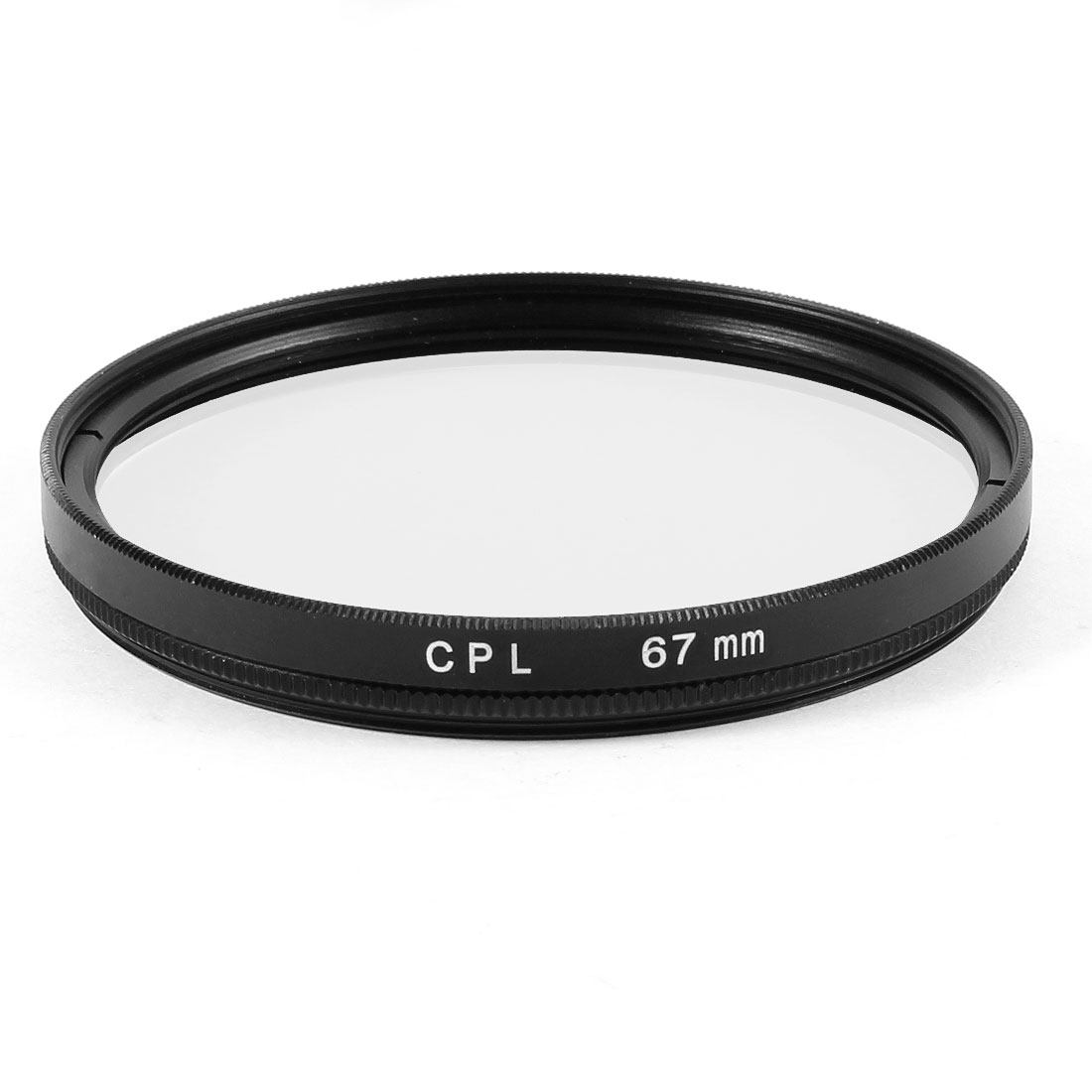 67m Circular Polarizing CPL Lens Filter Protector Black for Digital Camera