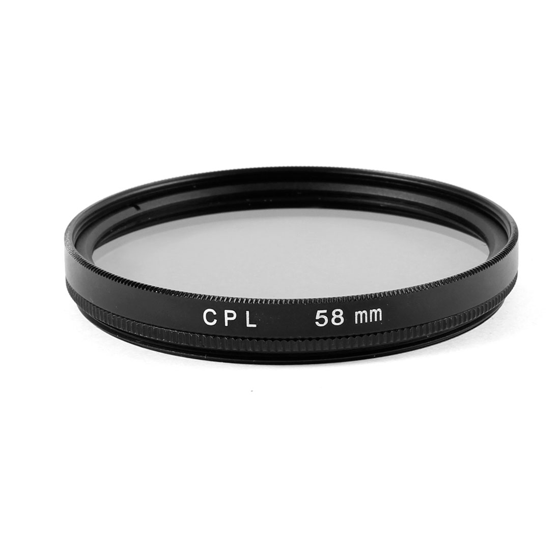 58mm Circular Polarizing CPL Lens Filter Protector Black for Digital Camera