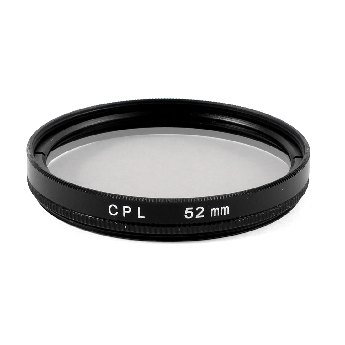 52mm Circular Polarizing CPL Lens Filter Protector Black for Digital Camera