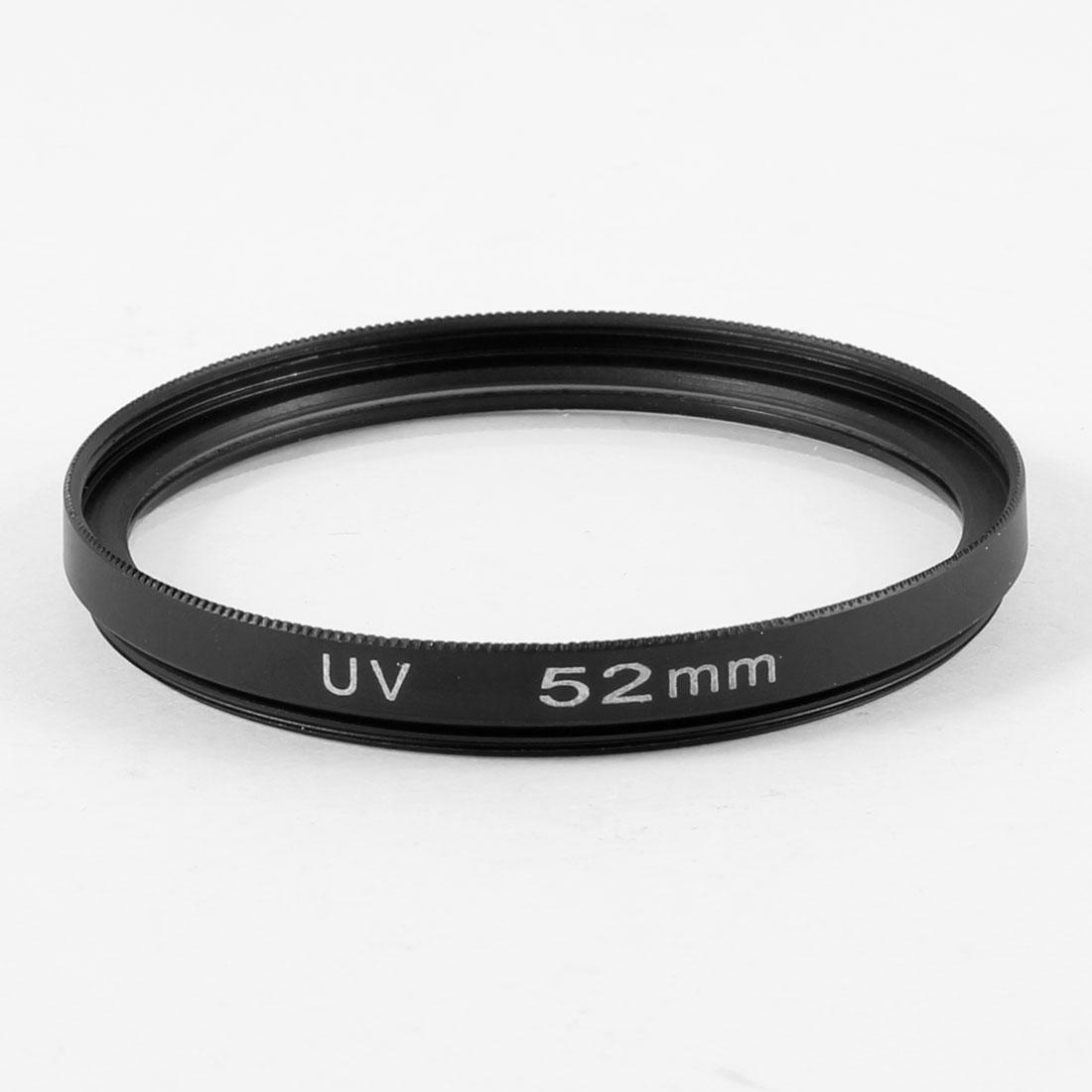 Digital Camera 52mm Multi Coated Protector Ultra-Violet UV Lens Filter Black