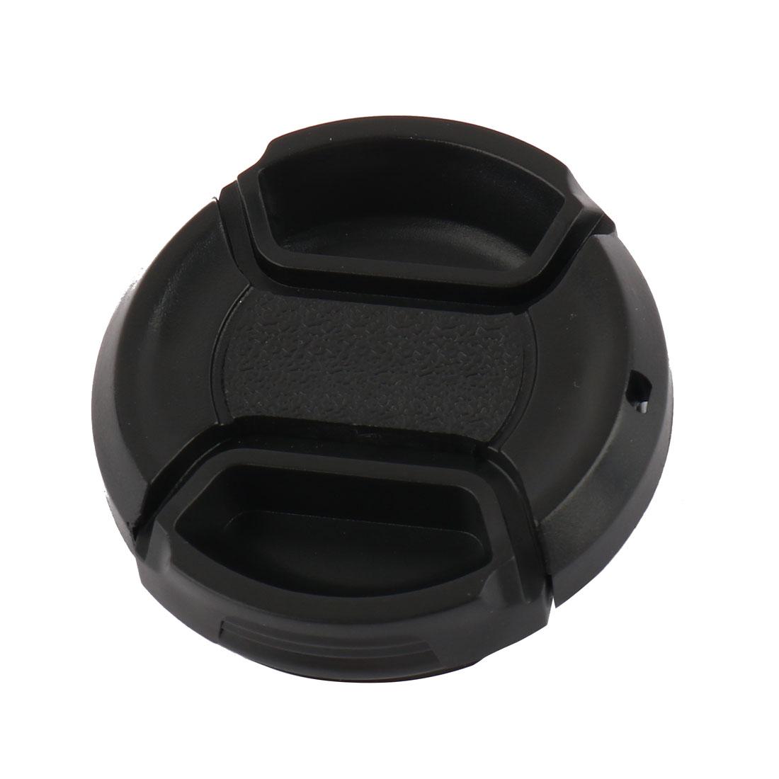 Univeral 37mm Center Pinch Front Lens Cap for DSLR Camera