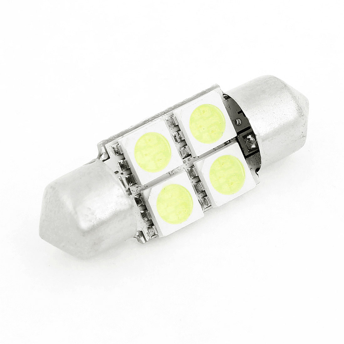 31mm Festoon 4 White 5050 SMD LED Interior Lamp for Auto Car