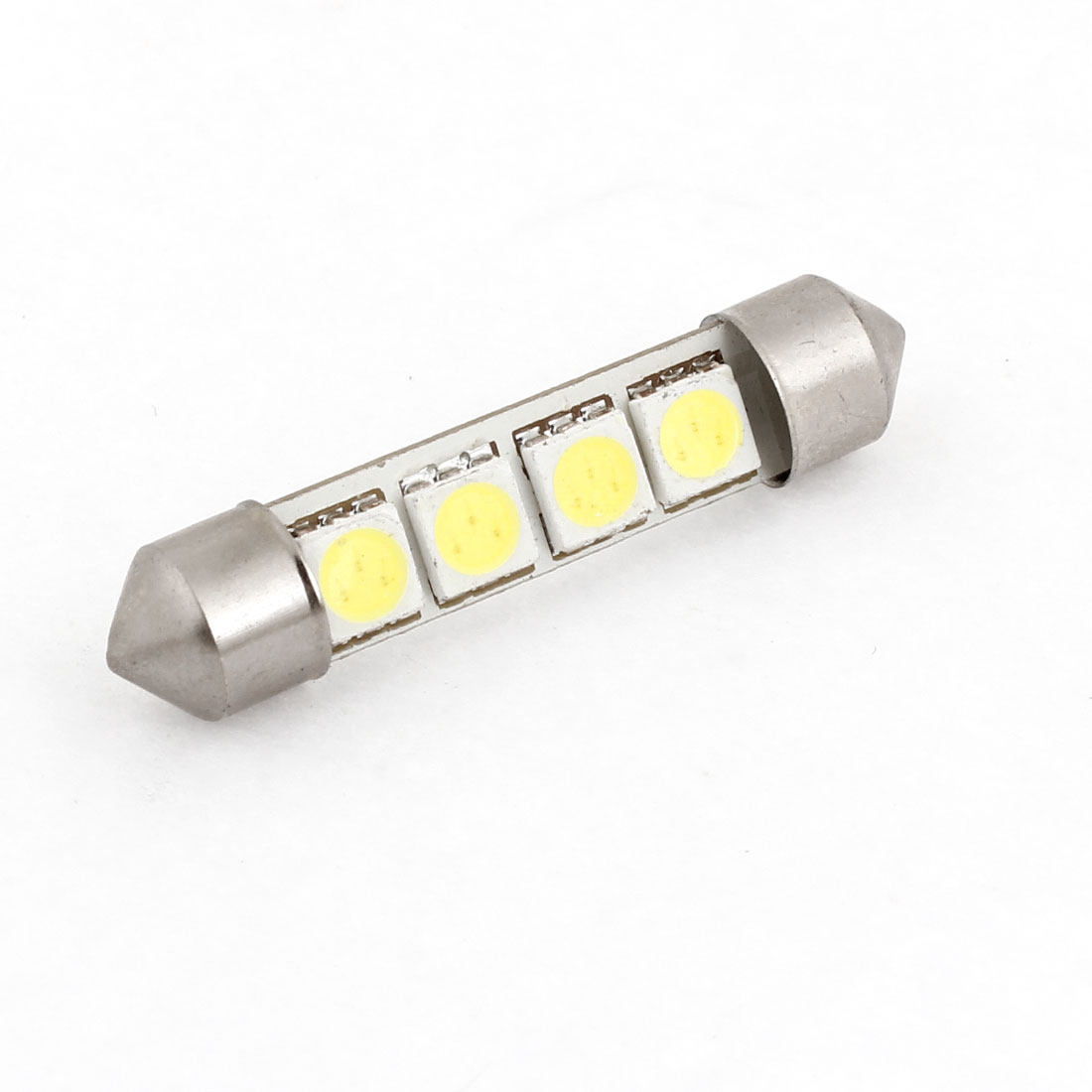 42mm Festoon 4 White 5050 SMD LED Interior Lamp for Auto Car