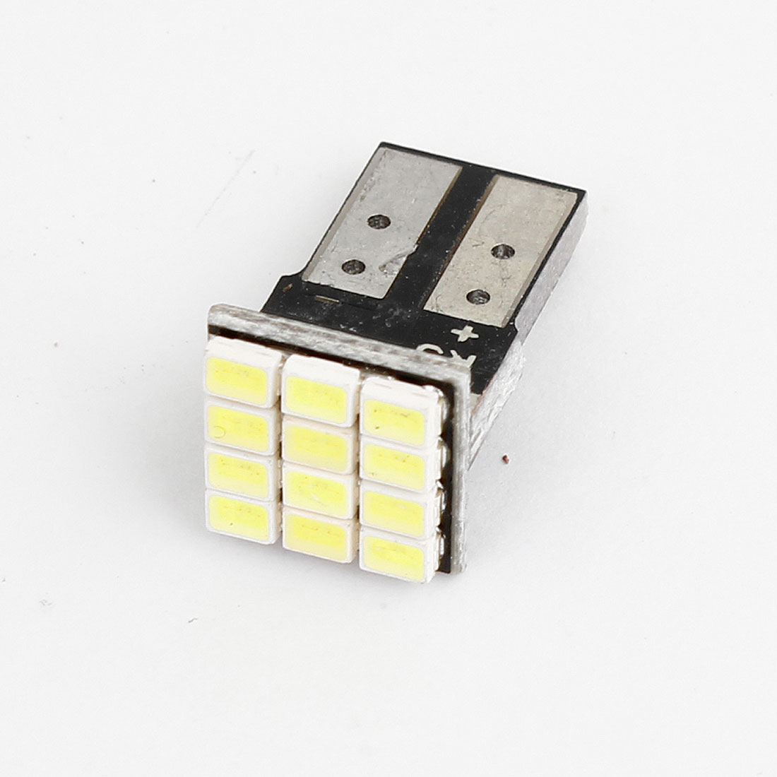 T10 W5W 12 White 1206 SMD LED Vehicle Car License Plate Lamp Bulb