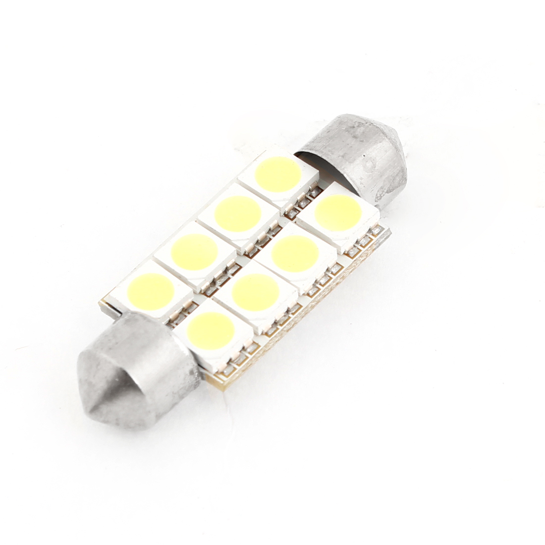 39mm Festoon 8 White 5050 SMD LED Interior Lamp for Auto Car internal