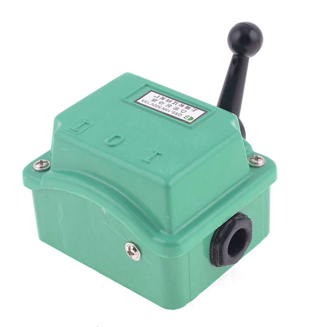 500V 15A 3 Position 3 Pole Motor Starter Protector