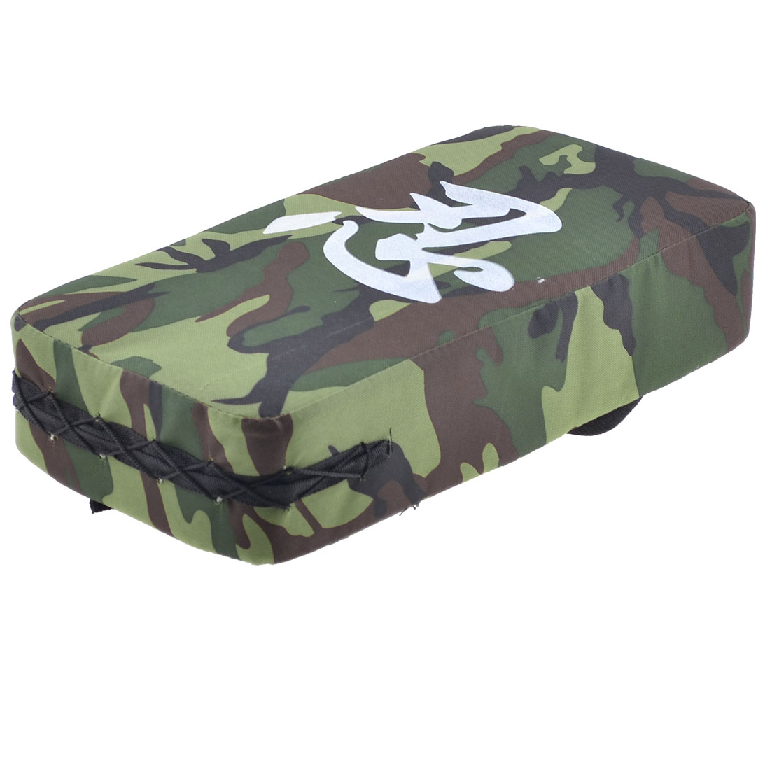 Camouflage Canvas Wrapped Sponge Rectangle Pad Taekwondo Kick Training Target