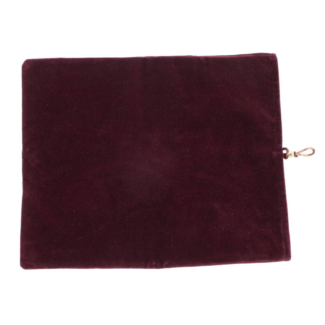 "Burgundy Velvet Universal Pouch Pocket Cover Sleeve Case for 9.7"" 10"" Tablet PC"