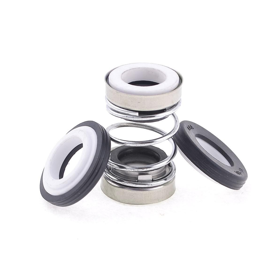 12mm Internal Dia Rubber Bellows Coil Water Mechanical Seal 43mm High
