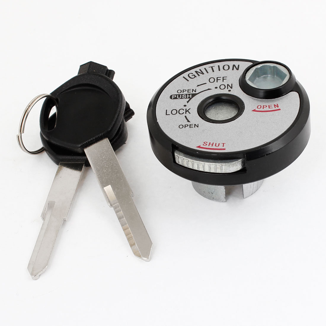 Motorcycle Motorbike Lock-Off-On Type 2 Position Ignition Switch w Dual Keys
