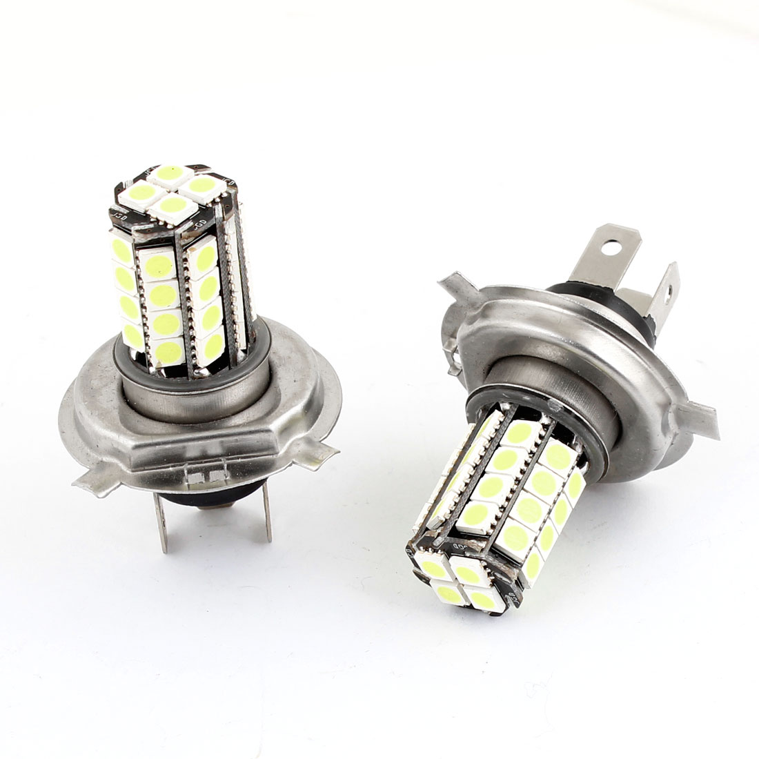2PCS 5050 SMD 36 LED H4 White Automobile Car Foglight Driving Parking Light Lamp