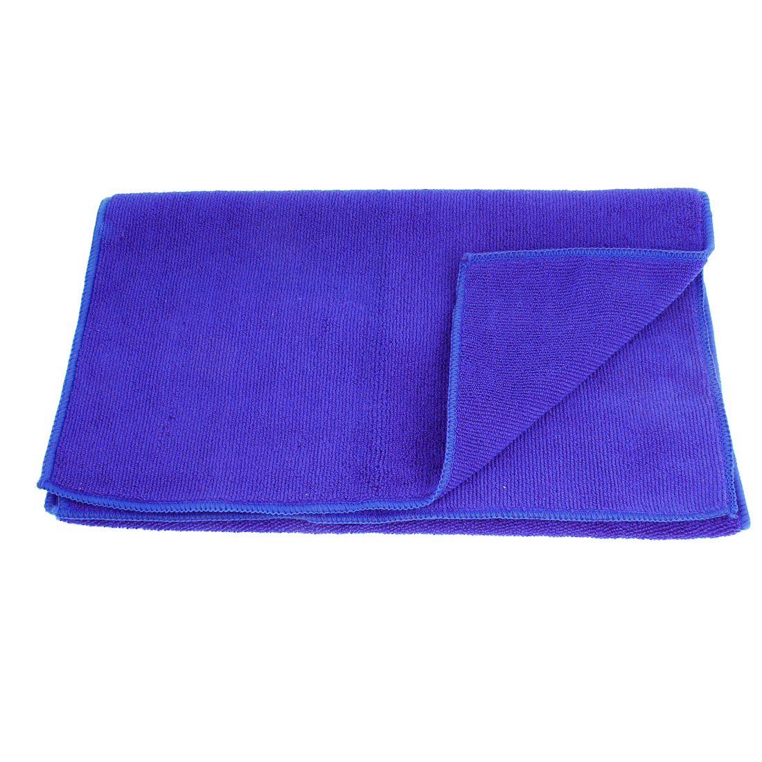 "Rectangular Blue 31.5"" x 13.4"" Microfiber Cleaning Cloth Towel for Car Vehicle"