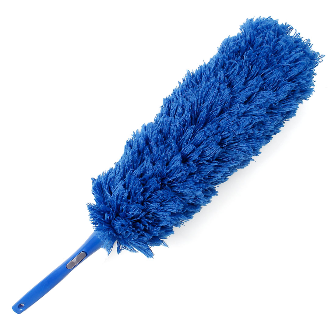 Vehicle Car Window Cleaning Nonslip Handle Soft Fleece Duster Cleaner Blue